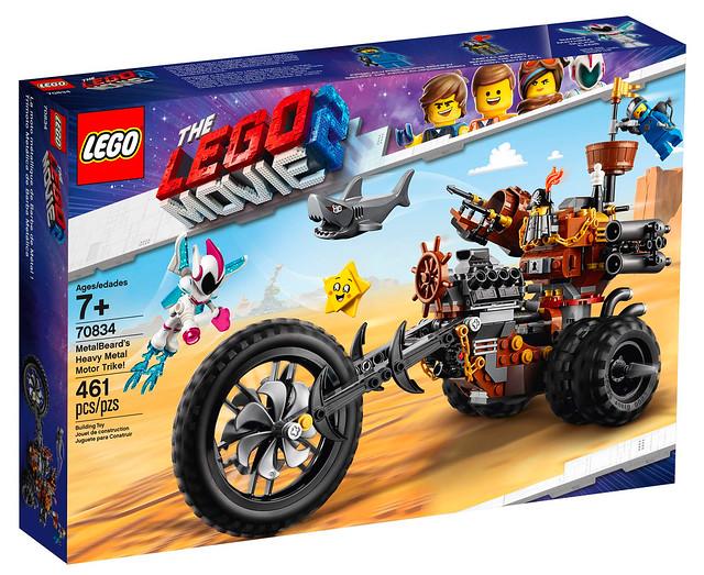 LEGO Movie 2 70834 MetalBeard's Heavy Metal Motor Trike 01