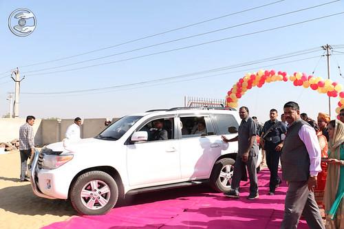 Arrival of Satguru Mata Ji at Balotara Branch on the way to Jodhpur