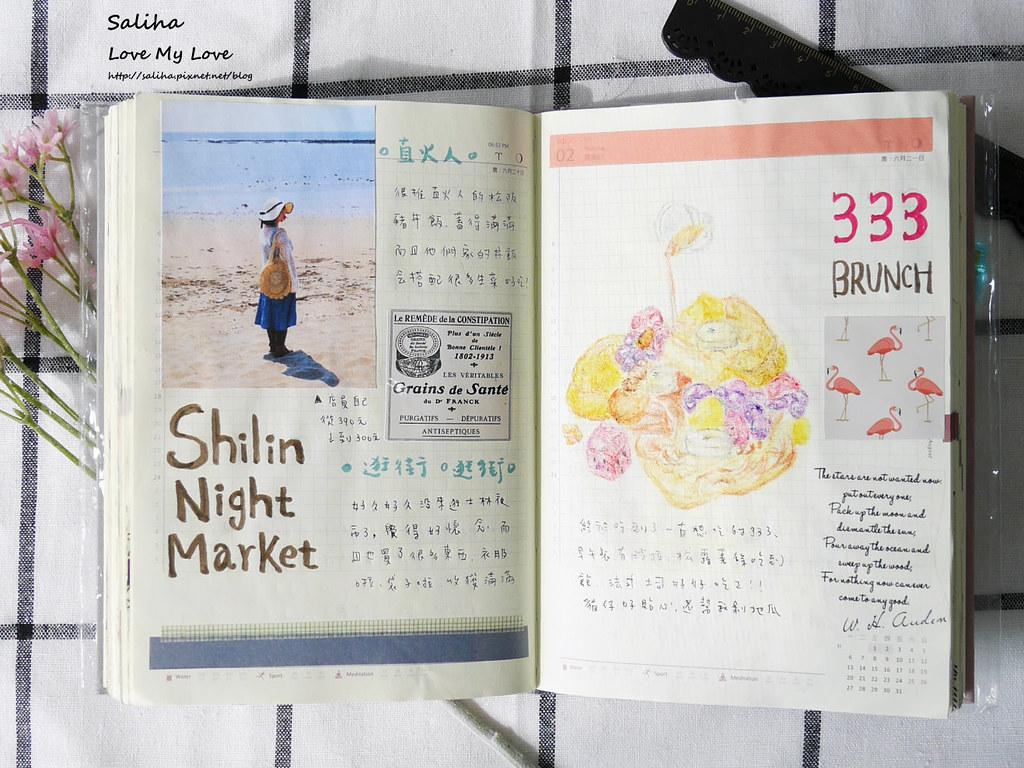 手帳日記裝飾分享紙膠帶設計水彩遊記 (2)