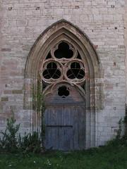 20080831 28651 1001 Jakobus Montbrison Kirche Fenster Dreifaltigkeit Bogen Tor - Photo of Essertines-en-Châtelneuf