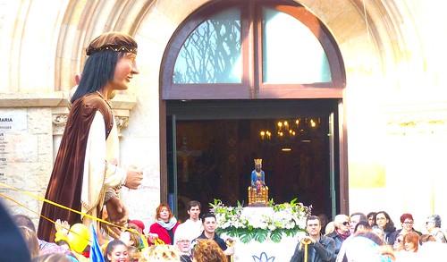 Verge de la Salut, Castelldefels