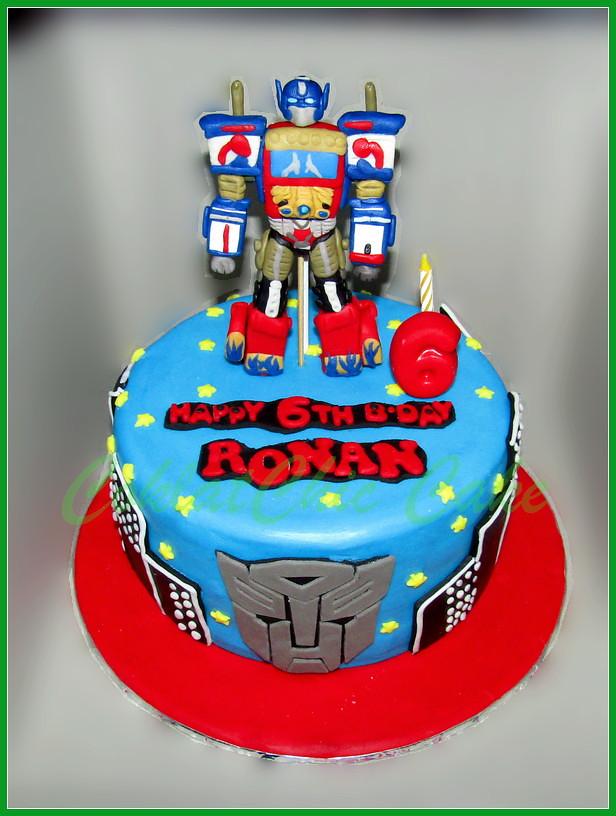 Cake Transformers Optimus Prime RONAN 18 cm