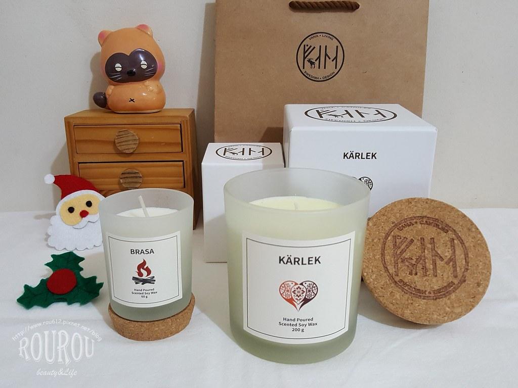 Vana Candles大豆蠟燭1