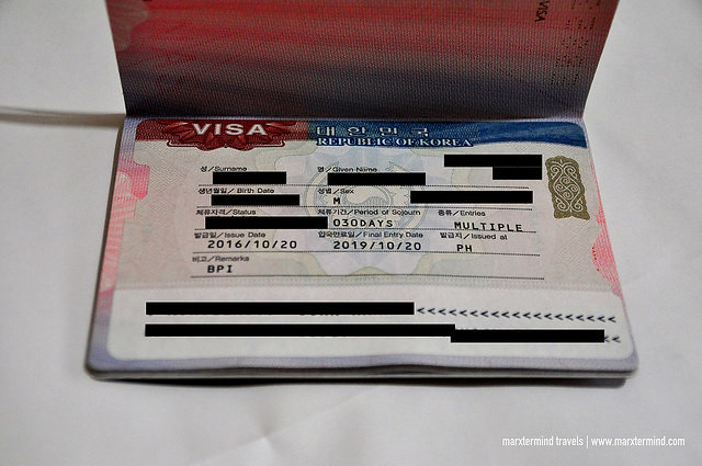 Multiple-Entry Korean Tourist Visa