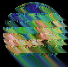 The view of Venus. Original from NASA. Digitally enhanced by rawpixel.