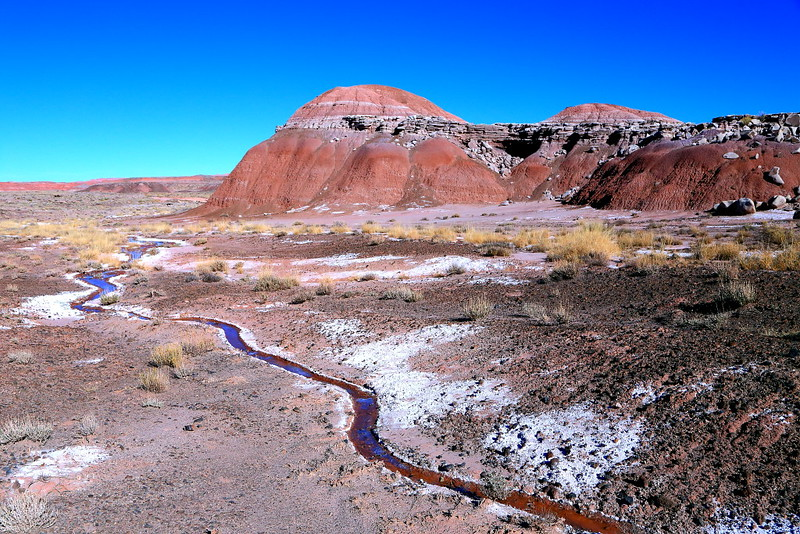 IMG_4895 Creek in Painted Desert, Petrified Forest National Park