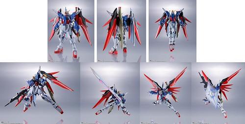 Metal Robot Tamashii ZGMF-X42S Destiny Gundam