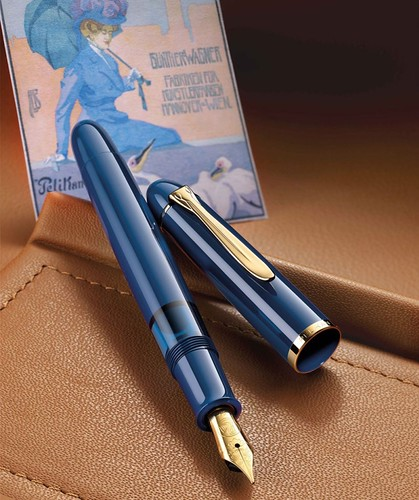 02 - Pelikan-m120-iconic-blue-poster