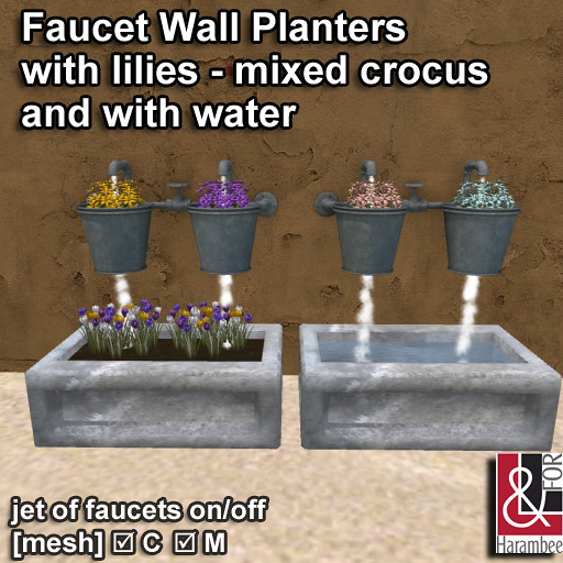 Faucet Wall Planters - TeleportHub.com Live!