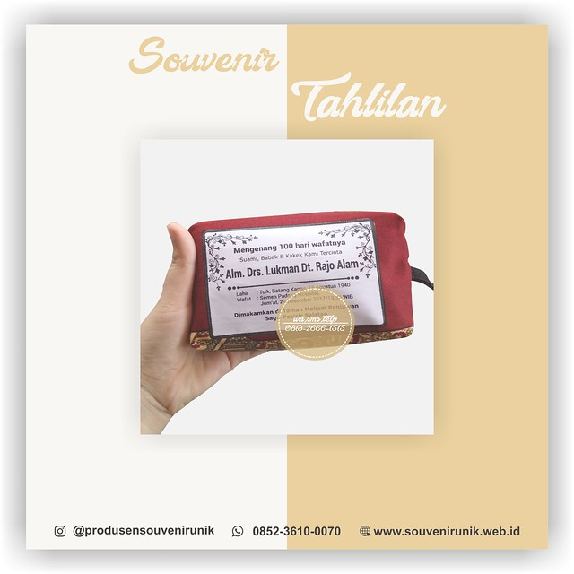 Souvenir Tahlilan Surabaya 0852-2765-5050