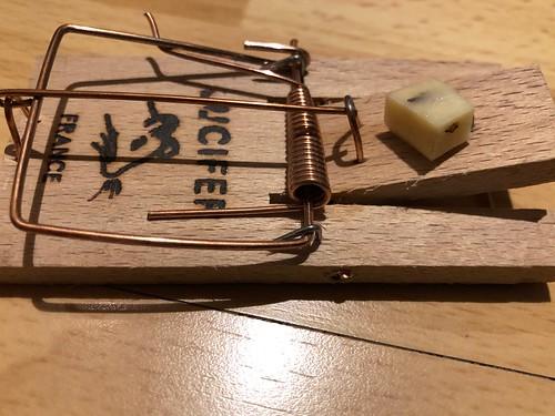 Tapette 2 ou Piège à souris électrique