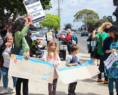 Kids want better public transport - Upgrade the #Upfieldline - duplicate the track - IMG_3405