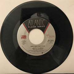 ARETHA FRANKLIN:ROCK STEADY(RECORD SIDE-B)