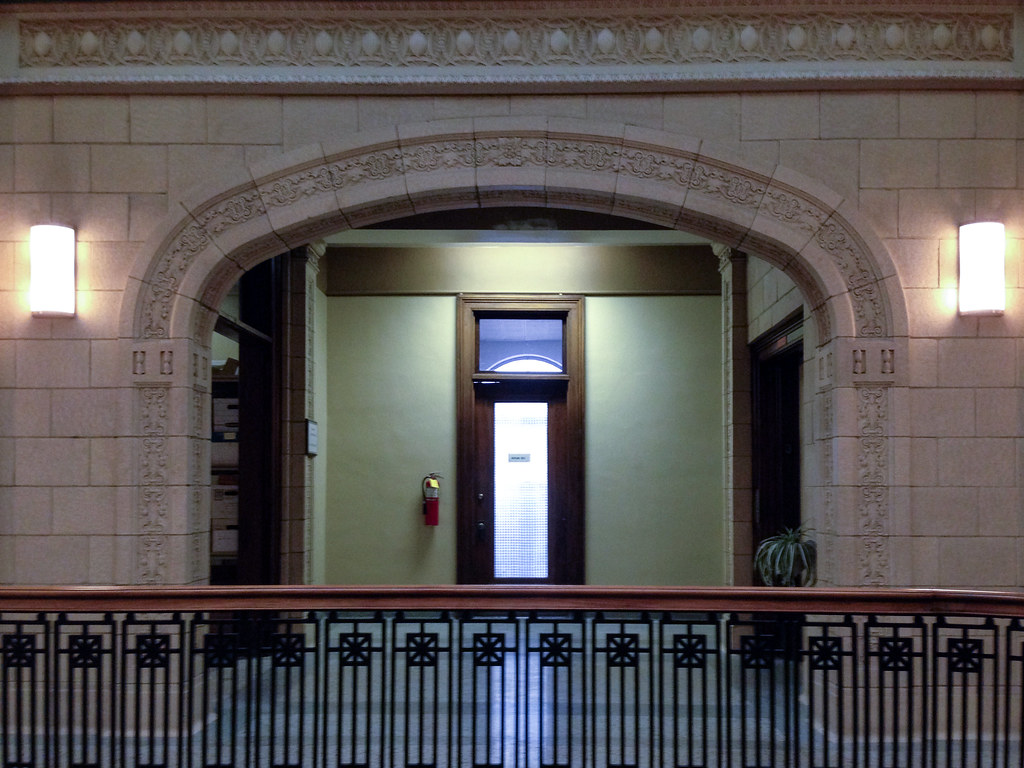Inside the Logansport City Building