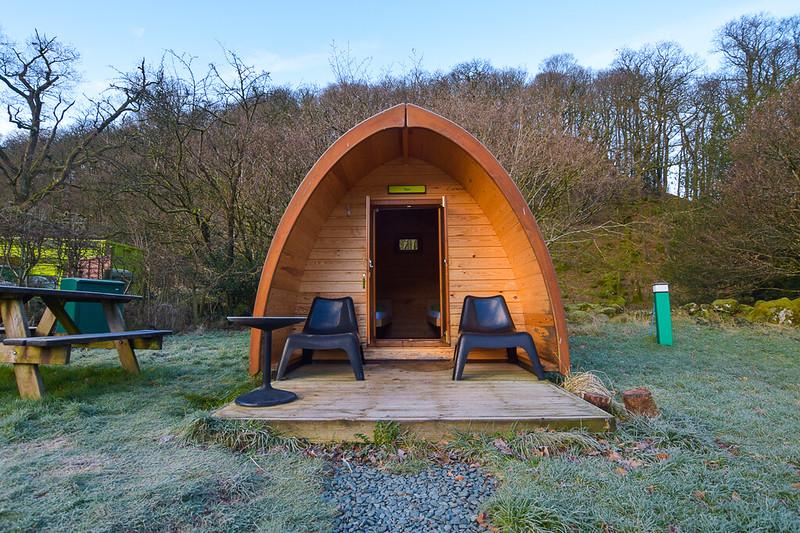 YHA Borrowdale Hostel camping pod, Lake District DSC_2213