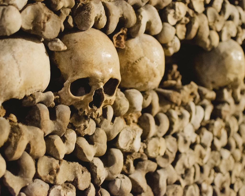 Paris Catacombs: Skulls