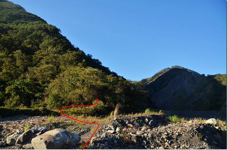 濁水溪山登山口