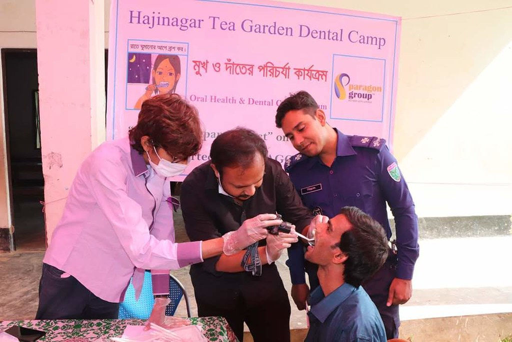 Seminar, Community Dental Camps & Survey with Jhorna Project