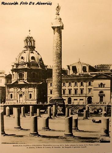 1930 2010 Colonna Traiana e Basilica Ulpia a, foto d'anonimo