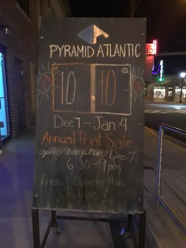 10 x 10 Show, December 7, 2018