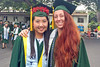 University of Hawaii at Manoa School of Ocean and Earth Science and Technology students celebrated at the campus' fall commencement ceremony on December 15, 2018.