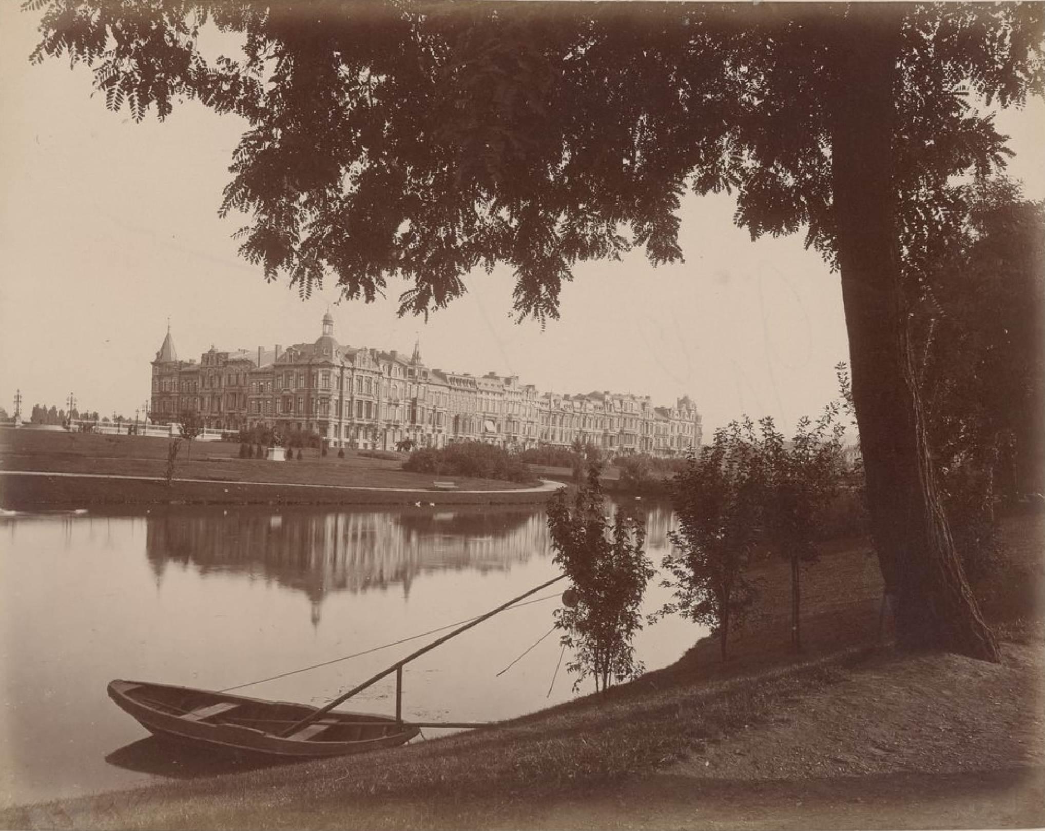 Бельгия. Льеж. Новый район. 29 мая 1888