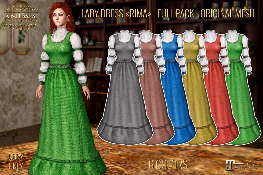 "Lady dress ""Rima"" - TeleportHub.com Live!"