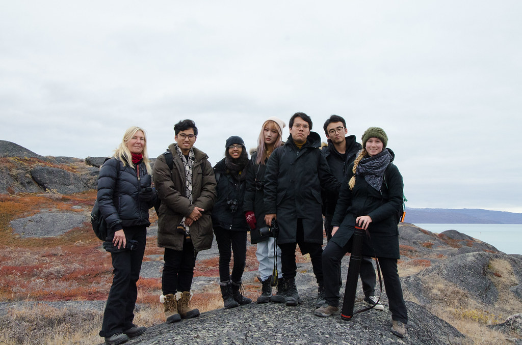 Architecture students in Dorte Mandrup and Marianne Hansen's option studio, Conditions: Architectural Interventions in the Arctic, traveled to Greenland in September.   photo / Oonagh Davis (B.Arch. '20)