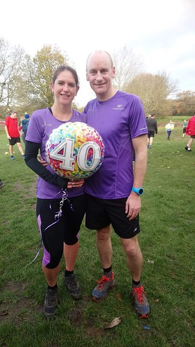 Mary's 40th Birthday parkrun