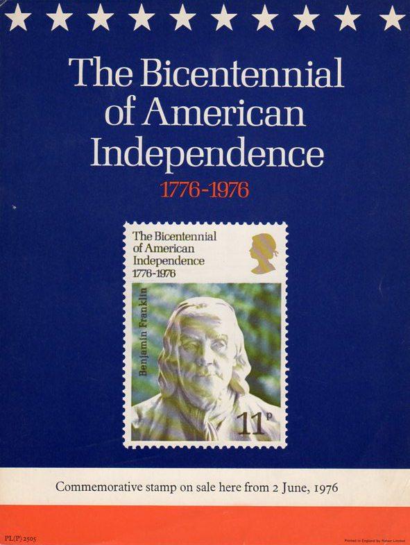 Great Britain - Scott #785 (1976) BPO poster