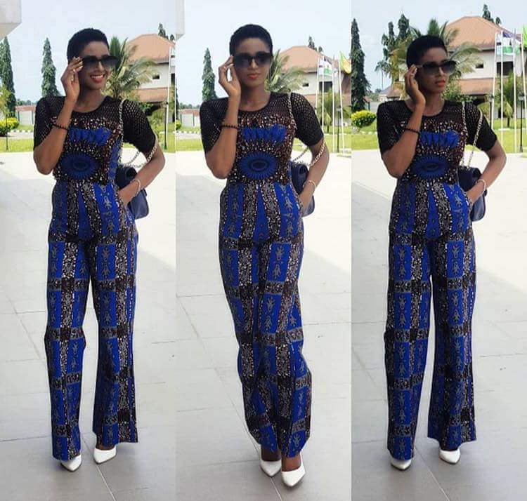 Classy Ankara Styles Of Jump-suits For Ladies 2020 1