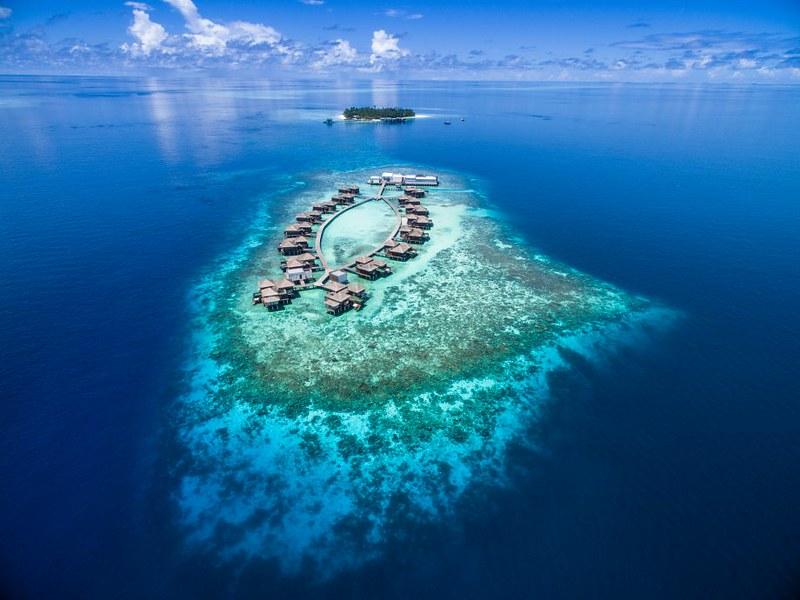 Romantic luxury Maldives