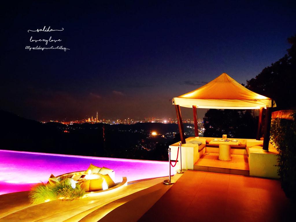 台北陽明山必吃美食夜景景觀餐廳THETOP屋頂上浪漫情人節聖誕節推薦 (7)
