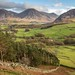 Whiteside, Grasmoor and Melbreak from the old coffin road above Loweswater
