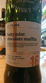 SMWS 73.106 - Nutty mint chocolate muffin