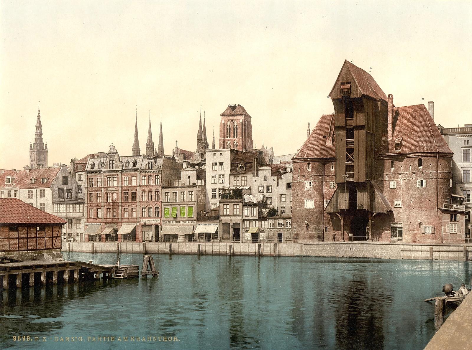 Данциг.  Partie я Krahn Тор.  1895-1900.