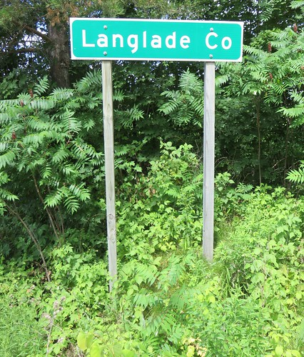 Langlade County Sign (Langlade County, Wisconsin)