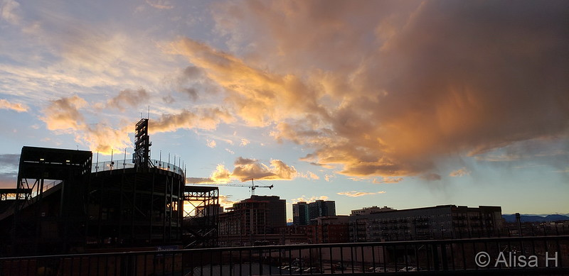 A beautiful sunset over downtown Denver to start the month of December. (Alisa H)