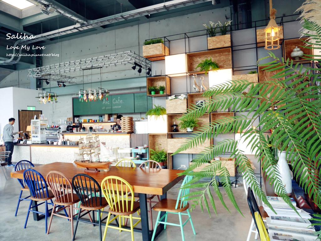 新北深坑老街一日遊景點餐廳美食推薦Arc Cafe不限時玻璃屋咖啡館下午茶 (3)
