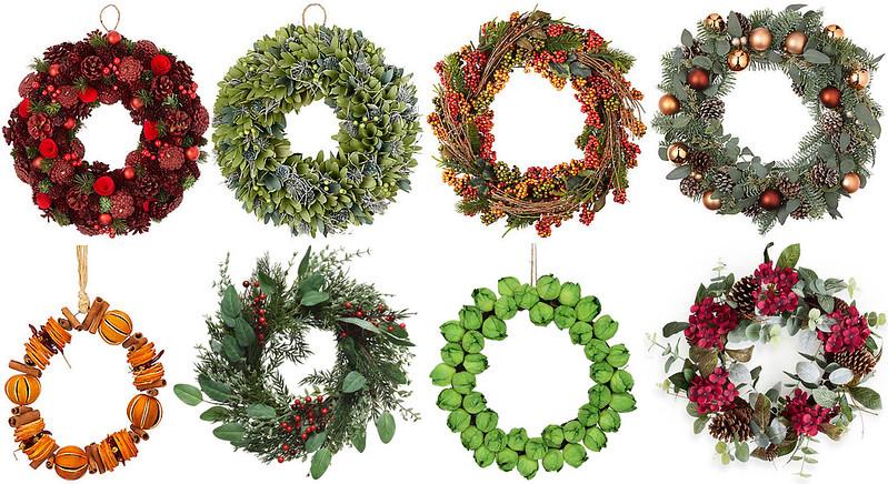 Best Christmas Wreaths 2018