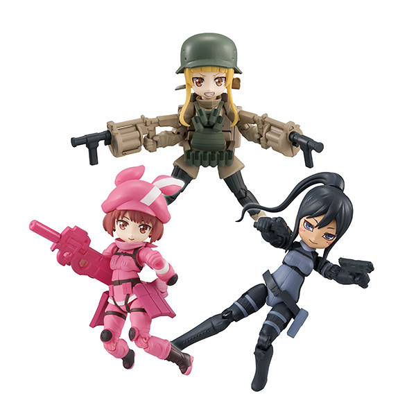 『Desktop Army』 x『刀劍神域外傳Gun Gale Online』合作第一彈 蓮 / Pitohui / 不可次郎 參戰!
