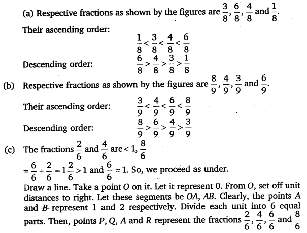 NCERT Solutions for Class 6 Maths Chapter 7 Fractions 44