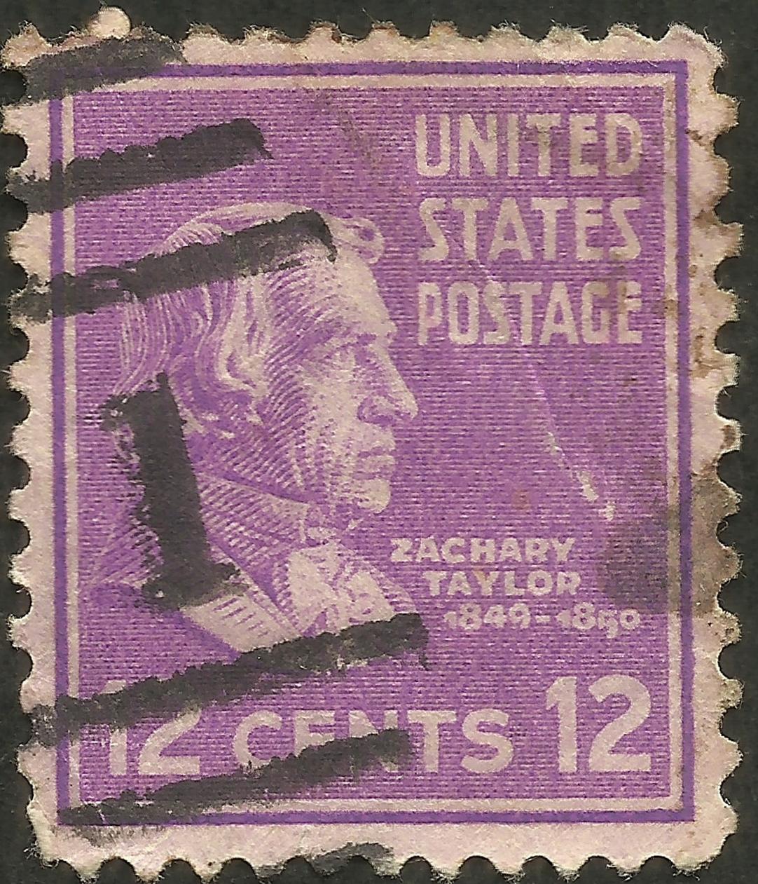 United States - Scott #817 (1938)