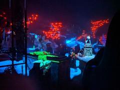 Sally in the Graveyard, Haunted Mansion,  Disneyland, Anaheim, California, USA