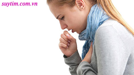 Ho khan kéo dài thường gặp ở bệnh nhân suy tim