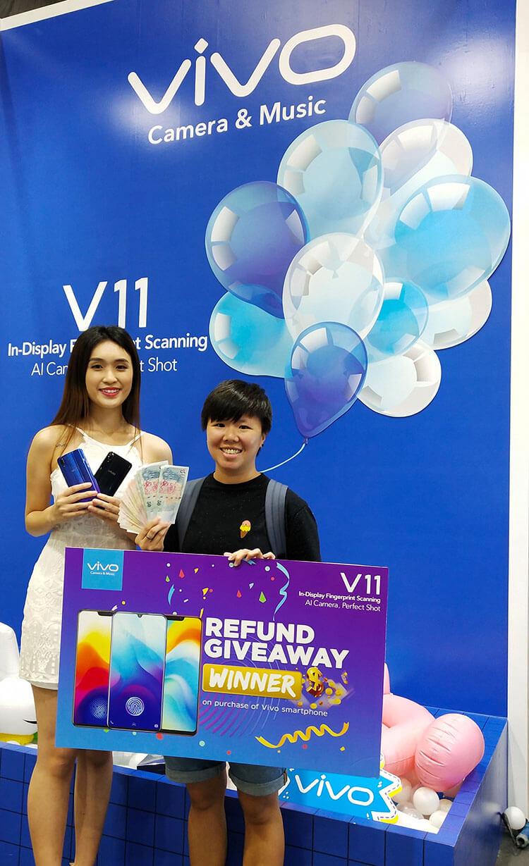 Vivo Refund giveaway winner