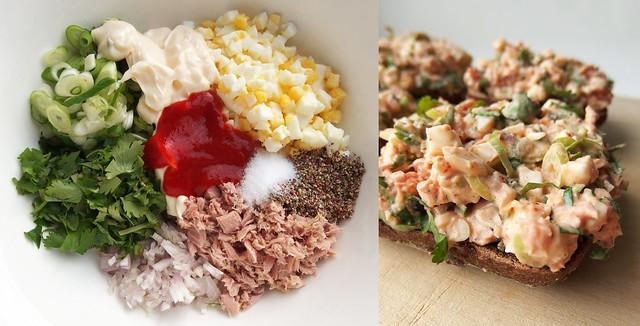 Recept Tonijnsalade met Ei