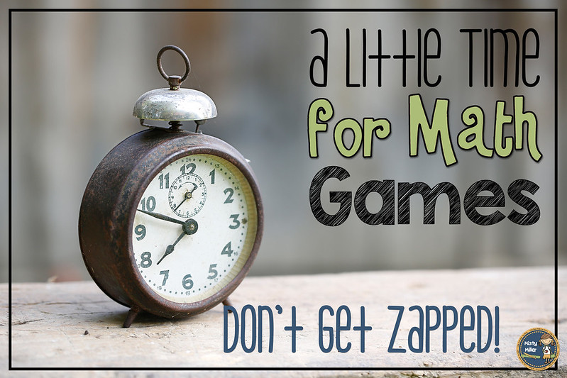 ZAP Some Excitement into Math; Don't Get ZAPPED; Math Game