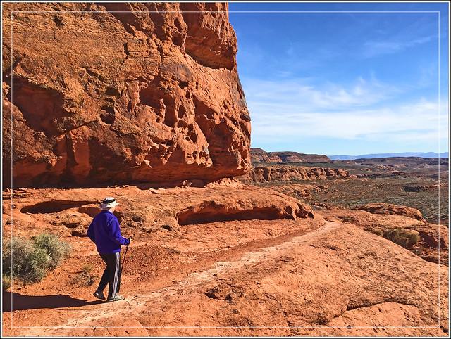 Red-Rock Hiker