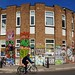 Decorated 1960s commercial - Hackney Wick, London E15